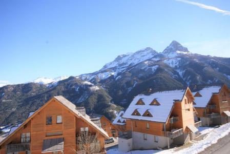 Location Pra Loup : Les Chalets de Praroustan hiver