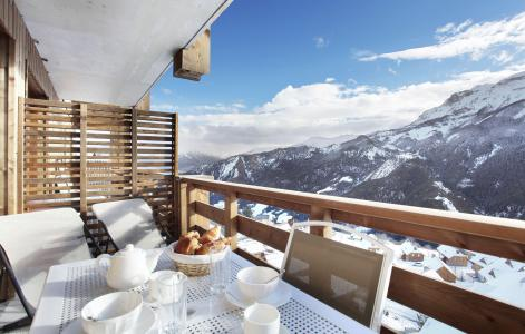 Rent in ski resort Résidence le Village de Praroustan - Pra Loup - Winter outside