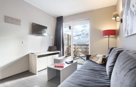 Rent in ski resort Résidence le Village de Praroustan - Pra Loup - Bed-settee