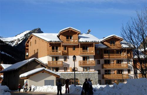 Location au ski Residence Blanchot - Pralognan - Extérieur hiver