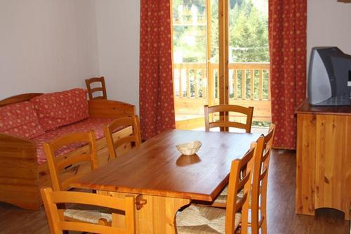 Location au ski Residence Blanchot - Pralognan - Coin repas