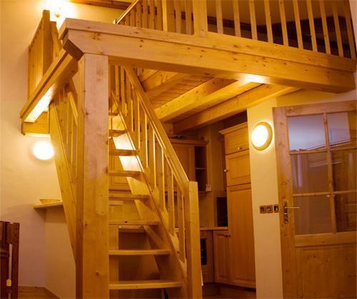 Location au ski Appartement 3 pièces coin montagne 9 personnes (BDQ) - Residence Les Jardins De La Vanoise - Pralognan - Mezzanine