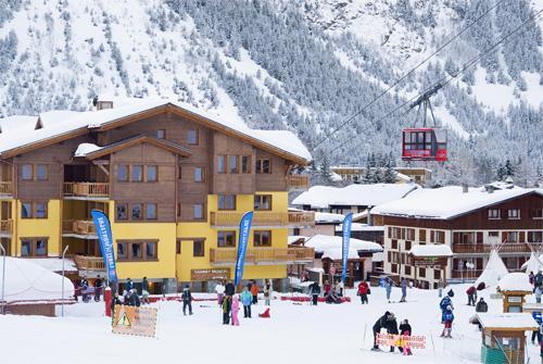 Location au ski Residence Les Jardins De La Vanoise - Pralognan-la-Vanoise - Extérieur hiver