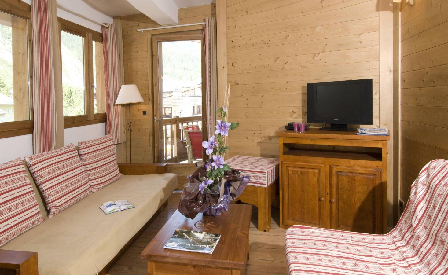 Location au ski Residence Les Jardins De La Vanoise - Pralognan-la-Vanoise - Coin séjour