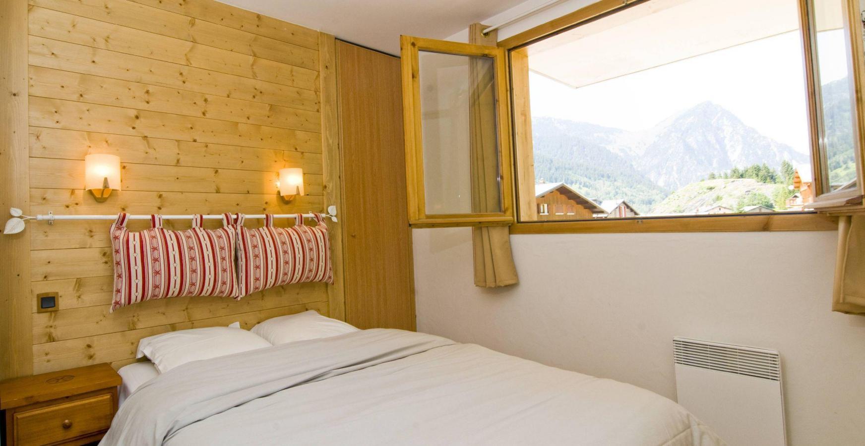 Location au ski Residence Les Jardins De La Vanoise - Pralognan-la-Vanoise - Lit double