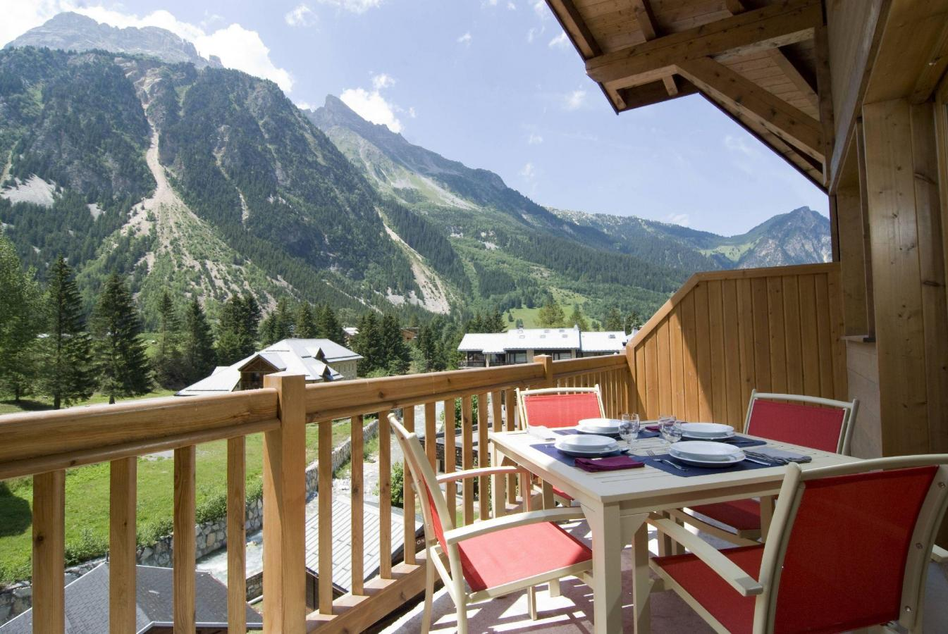 Location au ski Residence Les Jardins De La Vanoise - Pralognan-la-Vanoise - Balcon