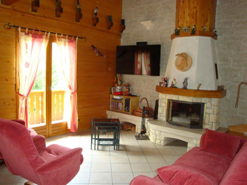Rent in ski resort 4 room chalet 8 people - Chalet l'Hibiscus - Pralognan-la-Vanoise - Apartment