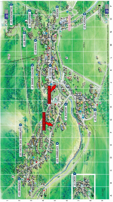 Location au ski Chalet la T'Santela - Pralognan-la-Vanoise - Plan