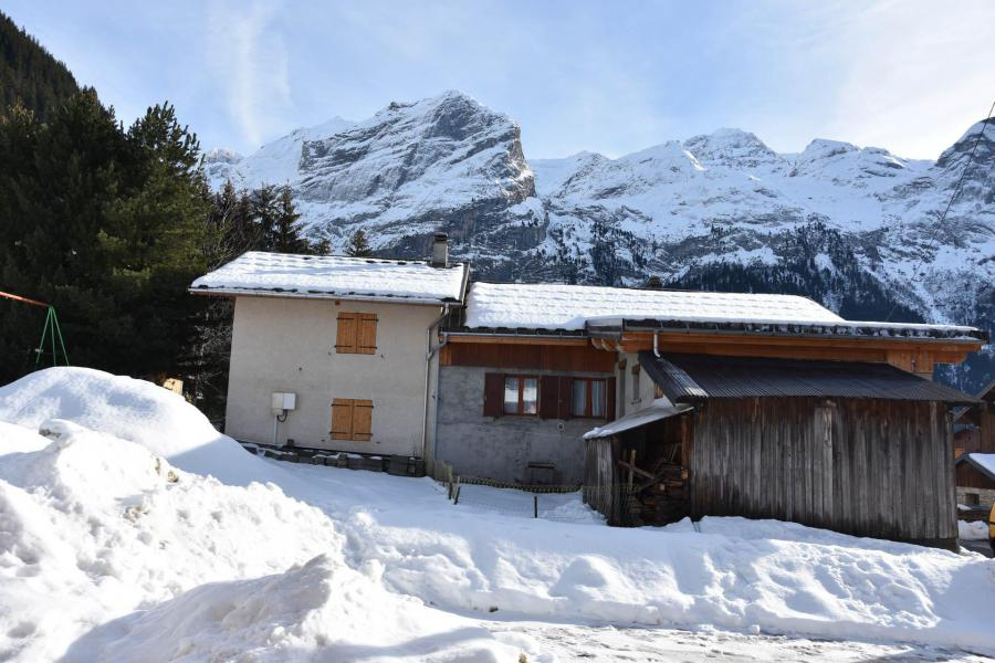 Wakacje w górach Apartament 2 pokojowy 4 osób (1) - Chalet Lou Fenatchu - Pralognan-la-Vanoise - Zima na zewnątrz