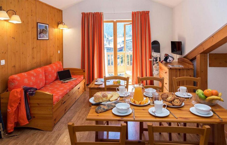 Location au ski Résidence le Blanchot - Pralognan-la-Vanoise - Table
