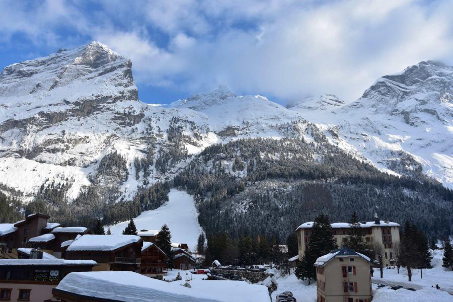 Wakacje w górach Studio 4 osoby (40B) - Résidence le Chasseforêt - Pralognan-la-Vanoise - Zima na zewnątrz