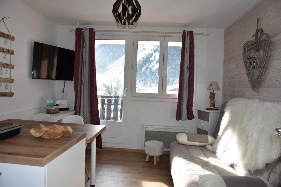 Rent in ski resort Studio sleeping corner 4 people (20) - Résidence le Grand Sud - Pralognan-la-Vanoise - Living room
