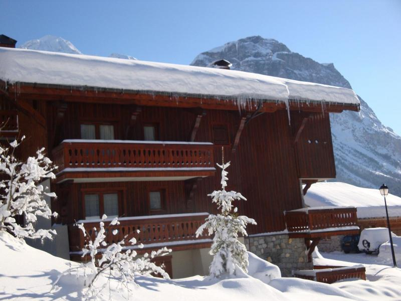 Wakacje w górach Résidence les Alpages de Pralognan E - Pralognan-la-Vanoise - Zima na zewnątrz