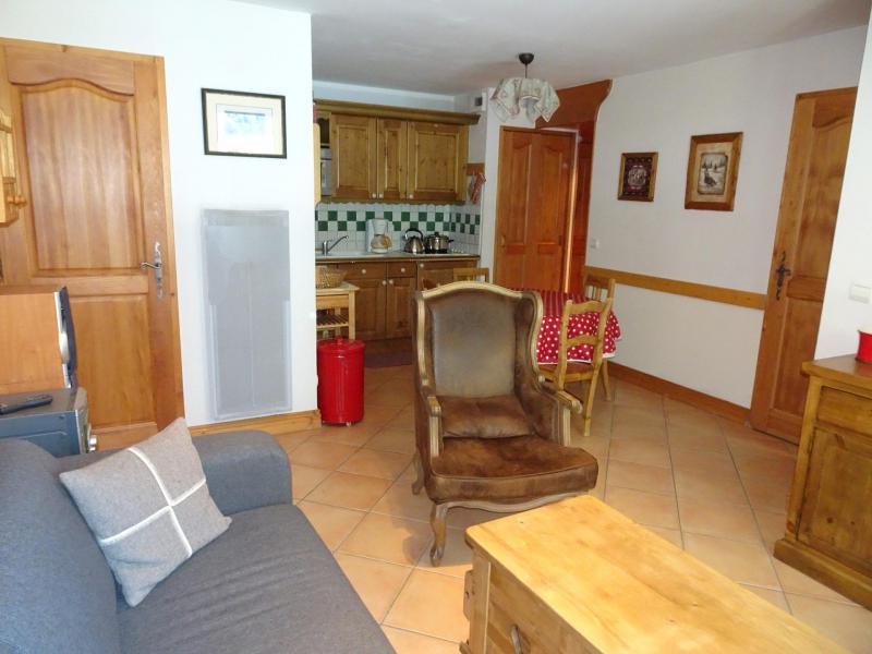 Rent in ski resort 3 room apartment 5 people (6) - Résidence les Alpages de Pralognan F - Pralognan-la-Vanoise - Living room