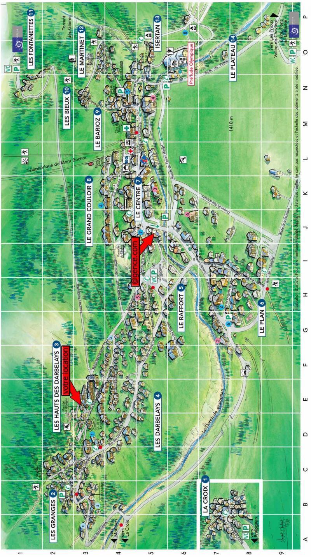 Rent in ski resort Résidence les Alpages de Pralognan F - Pralognan-la-Vanoise - Plan