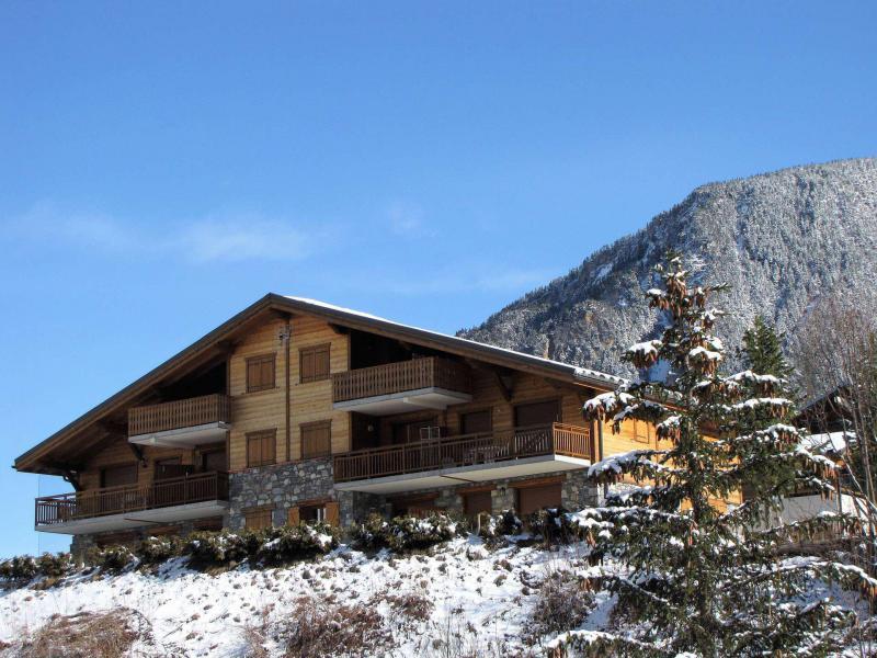 Wakacje w górach Résidence les Balcons de Villeneuve - Pralognan-la-Vanoise - Zima na zewnątrz