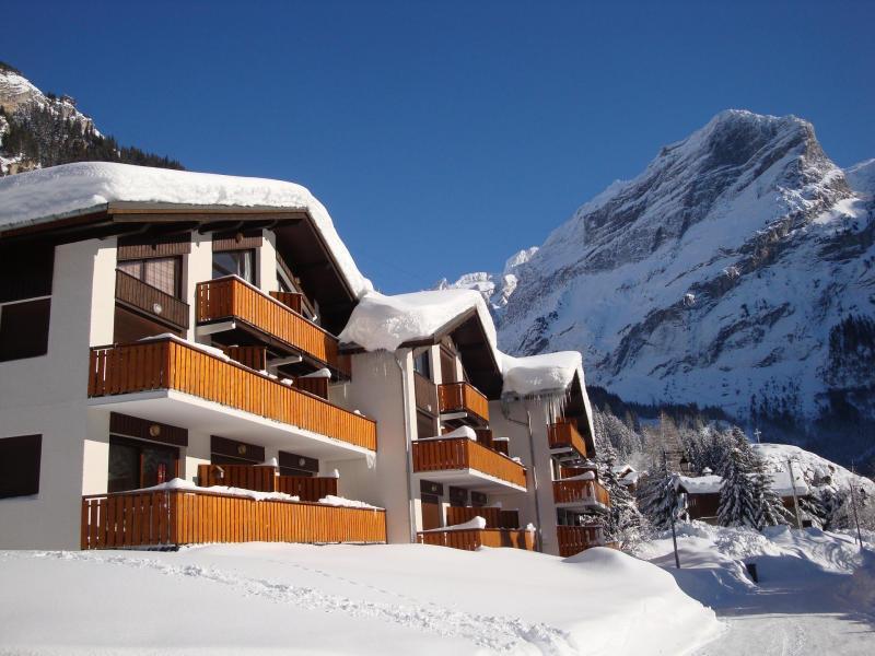 Location au ski Résidence les Crêtes - Pralognan-la-Vanoise - Extérieur hiver