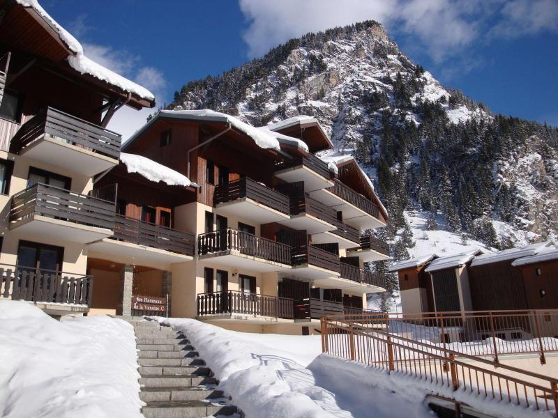 Vacaciones en montaña Apartamento 2 piezas para 4 personas (5C) - Résidence les Hameaux de la Vanoise - Pralognan-la-Vanoise - Invierno