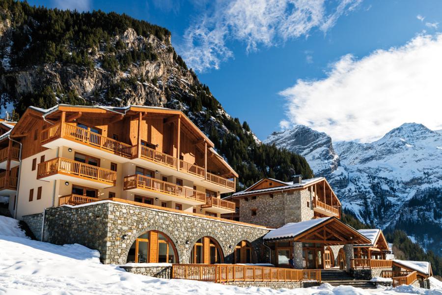 Rent in ski resort Résidence les Hauts de la Vanoise - Pralognan-la-Vanoise - Winter outside