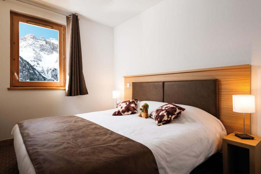 Rent in ski resort Résidence les Hauts de la Vanoise - Pralognan-la-Vanoise - Bedroom