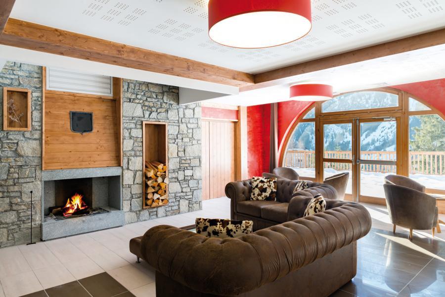 Location au ski Residence Les Hauts De La Vanoise - Pralognan-la-Vanoise - Cheminée