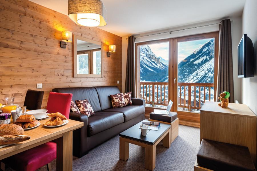 Location au ski Residence Les Hauts De La Vanoise - Pralognan-la-Vanoise - Séjour