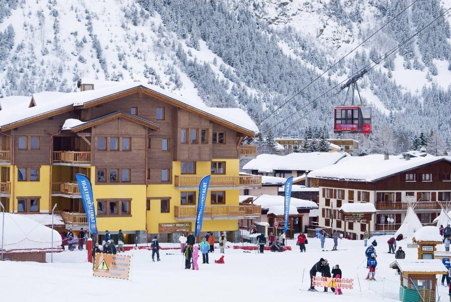 Alquiler al esquí Résidence les Jardins de la Vanoise - Pralognan-la-Vanoise - Invierno