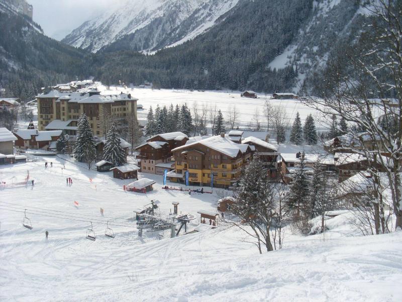 Vacances en montagne Résidence les Jardins de la Vanoise - Pralognan-la-Vanoise - Extérieur hiver