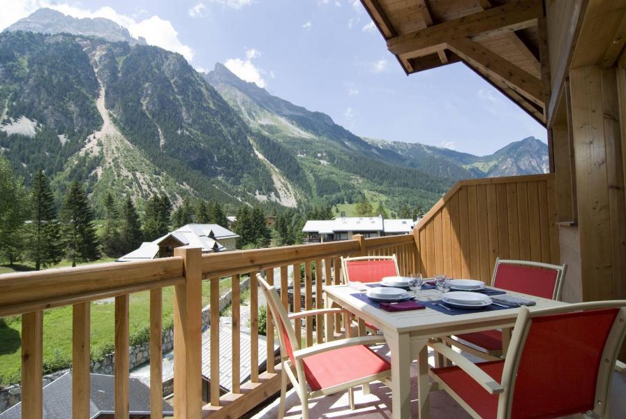 Alquiler al esquí Résidence les Jardins de la Vanoise - Pralognan-la-Vanoise - Balcón