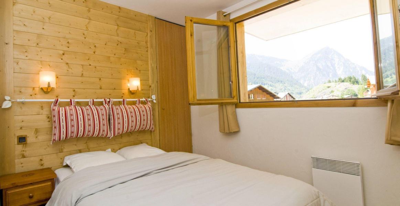 Alquiler al esquí Résidence les Jardins de la Vanoise - Pralognan-la-Vanoise - Cama doble