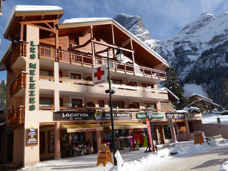 Vacaciones en montaña Résidence les Mélèzes - Pralognan-la-Vanoise - Invierno