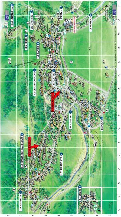 Rent in ski resort Chalet Fran Blanc - Pralognan-la-Vanoise - Plan