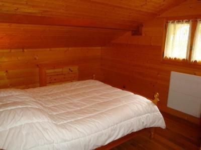 Rent in ski resort 4 room chalet 8 people - Chalet l'Hibiscus - Pralognan-la-Vanoise - Bedroom under mansard