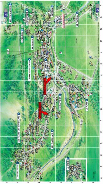 Rent in ski resort Chalet la T'Santela - Pralognan-la-Vanoise - Plan