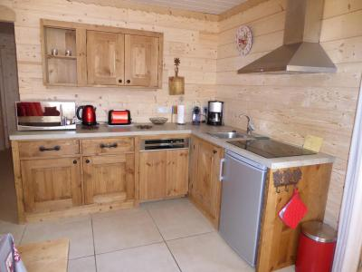 Rent in ski resort 3 room apartment 4 people - Chalet le Flocon - Pralognan-la-Vanoise - Kitchen