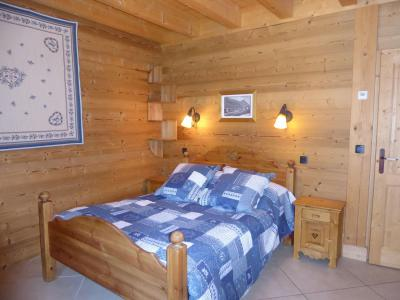 Rent in ski resort 6 room mezzanine apartment 10 people - Chalet le Flocon - Pralognan-la-Vanoise - Bedroom