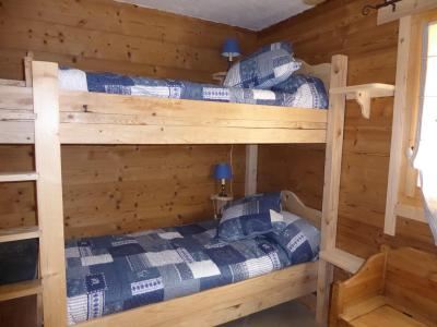 Rent in ski resort 6 room mezzanine apartment 10 people - Chalet le Flocon - Pralognan-la-Vanoise - Bunk beds