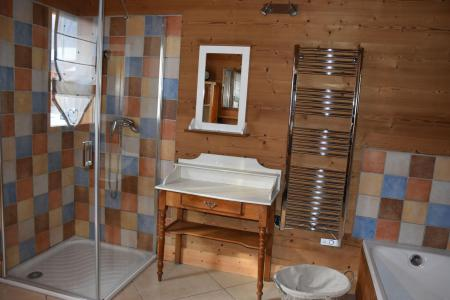 Rent in ski resort 6 room mezzanine apartment 10 people - Chalet le Flocon - Pralognan-la-Vanoise - Shower room