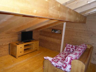 Rent in ski resort 6 room mezzanine apartment 10 people - Chalet le Flocon - Pralognan-la-Vanoise - TV