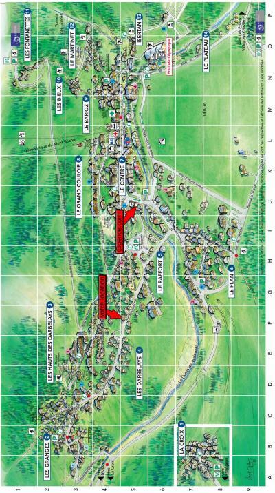Rent in ski resort Chalet le Grand Pré - Pralognan-la-Vanoise - Plan