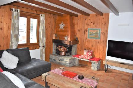 Rent in ski resort 5 room duplex apartment 8 people (CLARINES) - Chalet les Clarines - Pralognan-la-Vanoise - Living room
