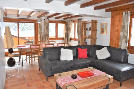 Rent in ski resort 5 room duplex apartment 8 people (CLARINES) - Chalet les Clarines - Pralognan-la-Vanoise - Settee