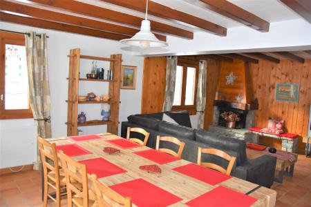 Rent in ski resort 5 room duplex apartment 8 people (CLARINES) - Chalet les Clarines - Pralognan-la-Vanoise - Table