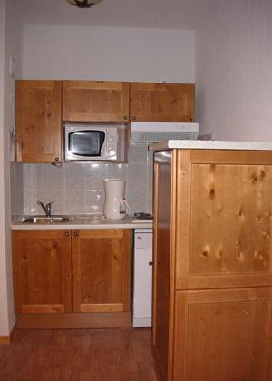 Location au ski Residence Blanchot - Pralognan - Kitchenette