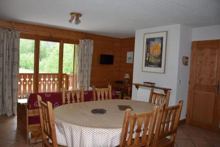 Rent in ski resort 3 room apartment 6 people (12) - Résidence la Ferme de Pralognan - Pralognan-la-Vanoise - Table