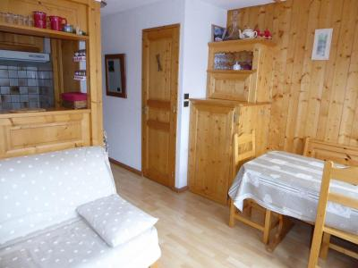 Rent in ski resort 3 room apartment 4 people (24) - Résidence le Barioz - Pralognan-la-Vanoise - Bed-settee