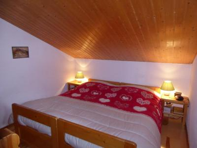 Rent in ski resort 3 room apartment 4 people (24) - Résidence le Barioz - Pralognan-la-Vanoise - Bedroom under mansard