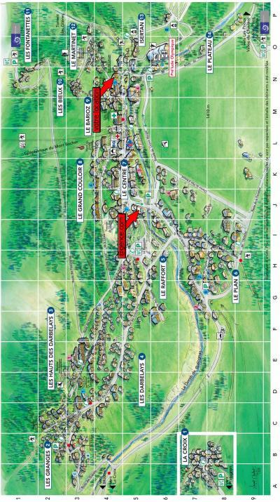Rent in ski resort Résidence le Barioz - Pralognan-la-Vanoise - Plan