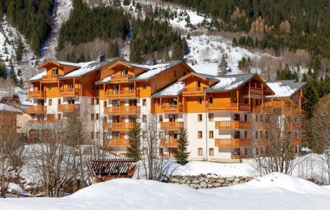 Location au ski Résidence le Blanchot - Pralognan-la-Vanoise - Extérieur hiver