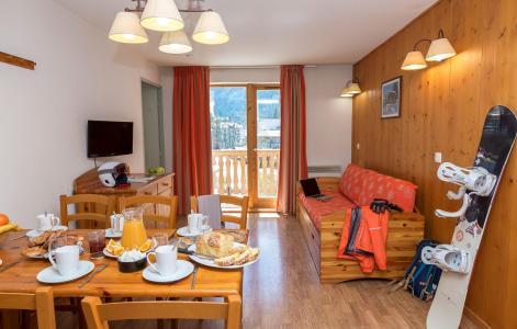 Location au ski Résidence le Blanchot - Pralognan-la-Vanoise - Coin repas